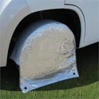 Protection roue camping car
